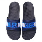 2020 Los Angeles Chargers FOCO Raised Slide Sandals Slippers Slides Summer Shoes $38.99 USD on eBay