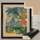 "32W""x38H"": LA ORANA MARIA by PAUL GAUGUIN1891 - DOUBLE MATTE, GLASS and FRAME"