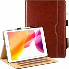 """EasyAcc PU Leather Case +Tempered Glass Protective Film Fr iPad 10.2"""" 2019 Gen 7"""