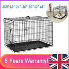 Dog Cage Puppy Crates Small Medium Large Extra Large Pet Carrier Training Cage√