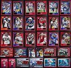 2020 Panini Score Red Parallel Football Cards Complete Your Set U Pick 301-440 $3.49 USD on eBay
