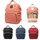 Diaper Bag Mommy Backpack Pure Color Mommy Travel Backpacks Large Capacity Bag