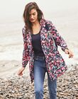 Joules Golightly Printed Waterproof Packaway Jacket - NAVY FLORAL <br/> Joules Official eBay Store: Free UK Delivery