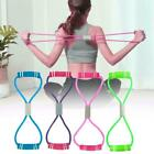 8 Word Yoga Fitness Resistance Rope Workout Muscle Elastic Bands Exercise C8L4