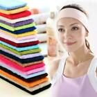 Men Women Wide Sports Yoga Headband Stretch Hairband Hair Band Elastic D3u2