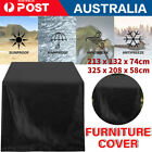 Waterproof Outdoor Furniture Cover Garden Patio Rain Table Protector Sofa 2 Size