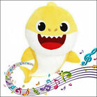 Baby Shark Toys Song Soft Plush Cuddle Singing Doll Gift for Kids Boys Girls