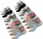 No Show Socks Women Non Slip Low Cut Cotton Liner Sports Casual Socks 3/6 Pairs