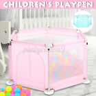 Kyпить Baby Playpen Fencing Children Kids  Folding Safety Fence Barriers Home Outdoor  на еВаy.соm