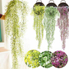 Artificial Fake Silk Flower Vine Hanging Garland Plant Home Garden Weddinh Decor