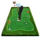 Simulation Golf Putting Green Professional Training Mat Aids Indoor/Outdoor Home