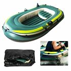Inflatable Boat Bearing 2/3 Person Durable PVC Fishing Drifting Diving Boat