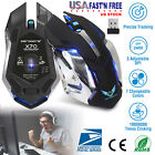 2.4G Wireless Gaming Mouse Optical 7 Colors Adjustable 2400DPI USB Rechargeable