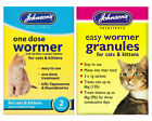 Johnsons One Dose Cat & Kitten Wormer Worming Tablets, Granules