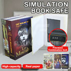 Book Safe Code Locker Book Secret Hidden Security Safe Cash Money Jewellery Box