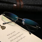 Titanium alloy anti-blue light B titanium Rimless elastic reading glasses reader
