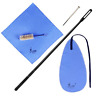 More images of CHIFOOM Flute Cleaning Kit,5 in 1 Saxophone Care Accessories with Cleaner Cloth