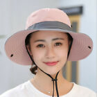 Kyпить Summer Womens UV Protection Cap Foldable Mesh Sun Wide Brim Beach Fishing Hat US на еВаy.соm