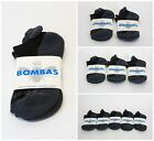 Bombas Black and Grey Ankle Socks Size Small 1/ 2/ 3/ 5 Pack NWT