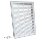 Air Return Filter Grille Steel Ventilation Filtration System Durable Paintable
