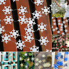 Snowflake Flag String Festival Hanging Winter Christmas Home Decoration