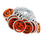 1pc Halloween Lamp String Pumpkin String Lamp Outdoor Decorative Light String