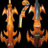 More images of Rare model fancy Crazy-1 art streamline carving dragon electric cello 4 / 4