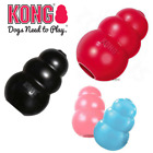 KONG Dog Toy Puppy Classic Chew or Extreme treat Snack Holder Rubber |Red|Black