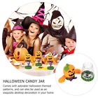 1Pc Halloween Candy Jar Sweets Storage Container Candy Cans Party Favors Holder
