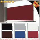 Retractable Side Awning Shade Terrace Privacy Screen Blind Automatic Roll-back