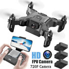 4DRC FPV RC Drone Quadcopter with Wide-angle 1080P HD Camera Altitude Hold Toy