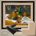 "38W""x32H"": STILL LIFE by PAUL GAUGUIN - DOUBLE MATTE GLASS and FRAME"