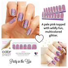 Color Street Nail Polish Strips 100% -16 Long lasting Strips BUY MORE TO SAVE!!!