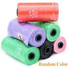 Bunty Dog Pets Puppy Poo Poop Waste Toilet Strong Large Bags Roll 1,4,6,8,10 #