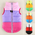 Dog Cat Puppy Pet Winter Clothes Vest Padded Coat Casual Jackets Outwear Jumper