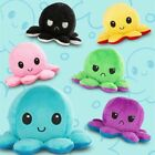 Double-Sided Flip Reversible Octopus Plush Toy Squid Stuffed Doll Toys for kids