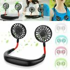 Bladeless Hanging Neck Fan Portable Air Cooler Mini Lazy Sport Fans Rechargeable