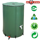 50/66/100 Gallon Rain Collecting Barrels Folding Water Tank For Garden Vegetable