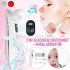 Electric LCD Nose Blackhead Remover Cleaner Face Vacuum Suction Dermabrasion