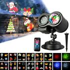 Christmas Lights Projector LED Laser Outdoor Landscape Xmas Move Lamp Gift