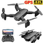 4DRC-F6 GPS FPV Drones with 4K FHD Camera 5G Quadcopter 3 Battery +CASE