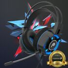 for PS4 PS5 Xbox Series X S One PC HD 3.5mm USB Wired Gaming Headset Headphone