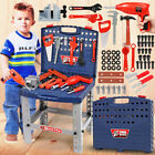 'Childrens 54pcs Tool Bench Play Set Work Shop Tools Kit Boys Kids Workbench Toy