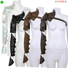 1Pc Gothic PU Adjustable Rivets Shoulder Armors with Arm Strap Sets Cosplay Hot