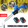 More images of 7 Cordless Mini One-Hand Saw Woodworking Electric Chain Saw Cutter Battery 400W