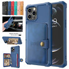 Fr Iphone 12 Pro Max 11 8 7 6 Plus Xs Leather Card Slots Wallet Case Stand Cover