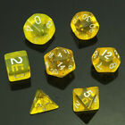 Dice Kit MTG Board Games Practical Portable 7 Polyhedral Sided Game Set
