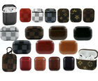 Luxury Airpods Case Leather Protective Design Cover For Airpod Earphone Pro &1/2