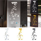 Removable,3d-mirror Flower Art Wall Sticker Acrylic Mural Decal Home Room Decor
