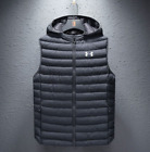Men's Under Armour jacket trendy waistcoat sleeveless padded down cotton vest